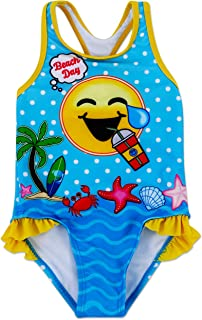 Toddler Girl Authentic Character One Piece Swimsuit UPF 50