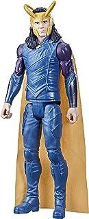 Marvel Avengers Titan Hero Series Collectible 12-inch Loki actiefiguur, speelgoed voor kinderen vanaf 4 jaar F2246
