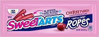 SweeTARTS Ropes, Cherry Punch, 1.8 Ounce, (Pack of 24)
