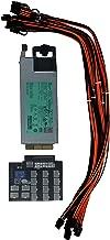 1400W 94% Platinum PSU Power Supply Kit 220-240v GPU Mining 16 6+2 PCIE
