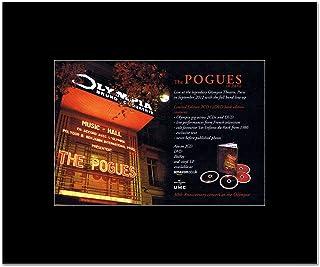 POGUES - Live in Paris Mini Poster - 21x13.5cm