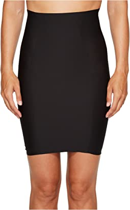 Hidden Curves High-Waisted Skirt Slip