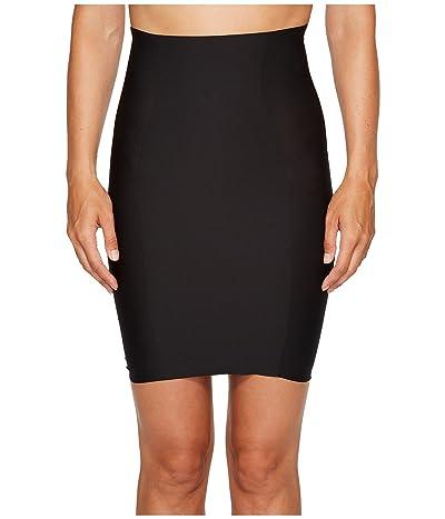 Yummie Hidden Curves High-Waisted Skirt Slip (Black) Women