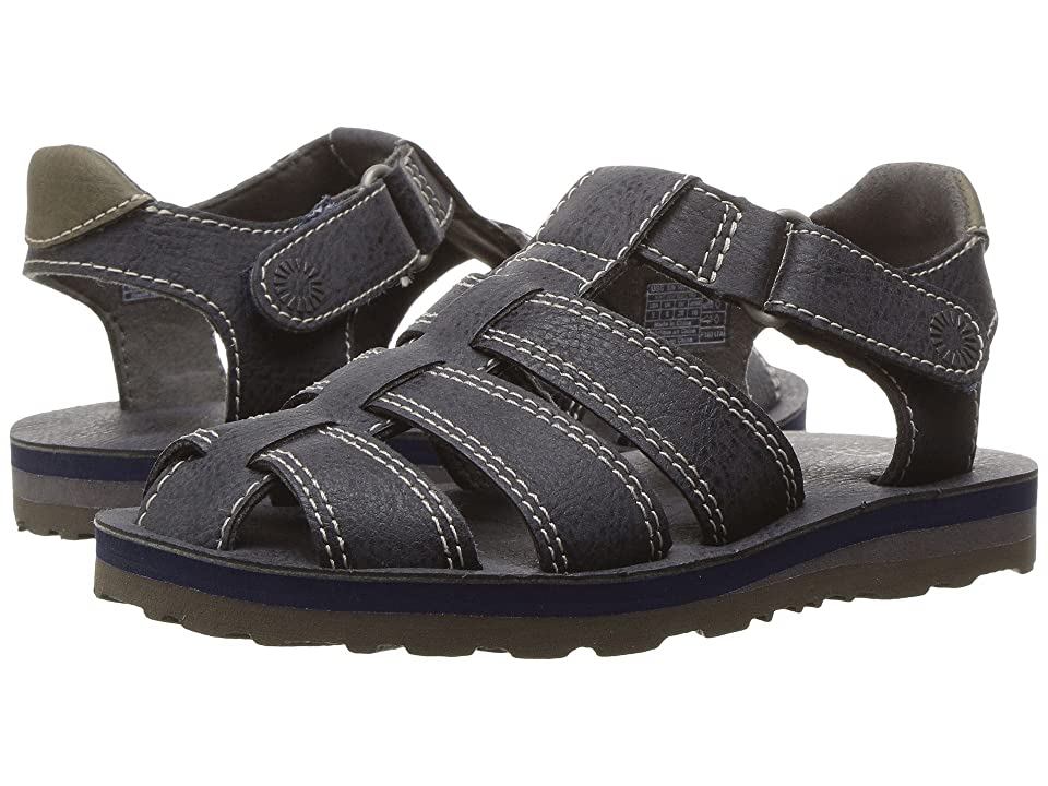 UGG Kids Josiah (Toddler/Little Kid) (Navy) Girls Shoes