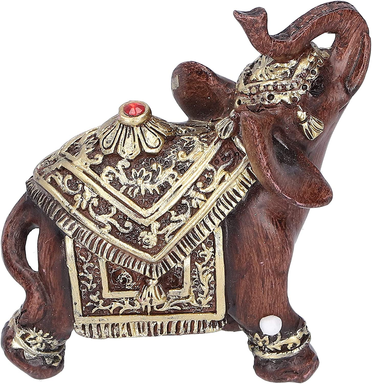 ROMACK Our shop OFFers the best service Elephant Statue Material Figurine Durable Resin Ranking TOP18