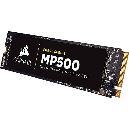 Corsair Force MP500 - Unidad de Estado sólido, SSD de 240 GB, M.2 PCIe 3 x4 NVMe-SSD, Velocidad de Lectura hasta 2.800 MB/s