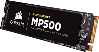 CORSAIR FORCE Series MP500 240GB NVMe PCIe Gen3 x4 M.2 SSD Solid State Storage, Up to 3,000MB/s