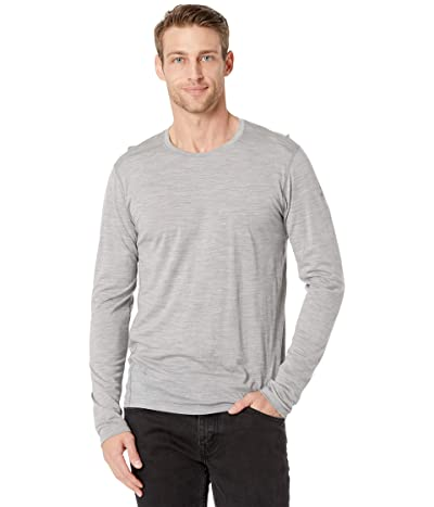 Smartwool Merino 150 Base Layer Long Sleeve (Light Gray Heather) Men
