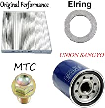 Tune Up Kit Cabin Air Oil Filters Plug Gasket for Honda Accord 2008-2014