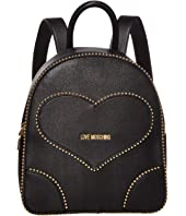 LOVE Moschino - Embroidery Of Love Backpack