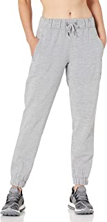 Core 10 Amazon Brand Women's (XS-3X) Woven Jogger Pant Pants