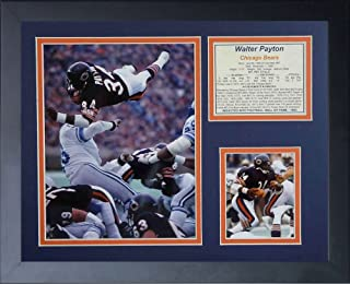 Legends Never Die Walter Payton Diving Framed Photo Collage, 11x14-Inch