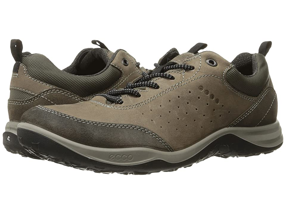 Ecco Performance Esphino Low (Warm Grey/Stone) Men's Running Shoes, Brown