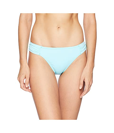 Pearl Side Shirred Hipster, Swimming Pool Blue