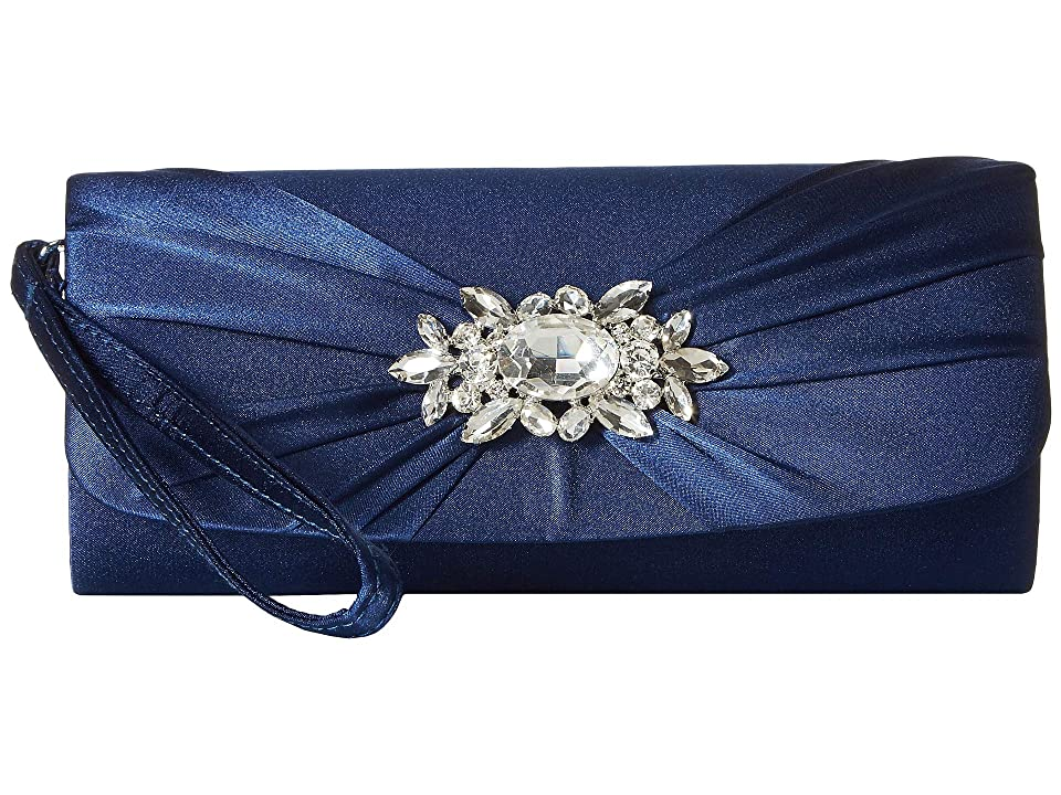Jessica McClintock Marian Wristlet (Navy) Handbags