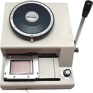 BAOSHISHAN WSDM-80CE 2 in 1 80 Manual PVC ID Credit Card Embossing Manual Embosser Machine with Indent Machine