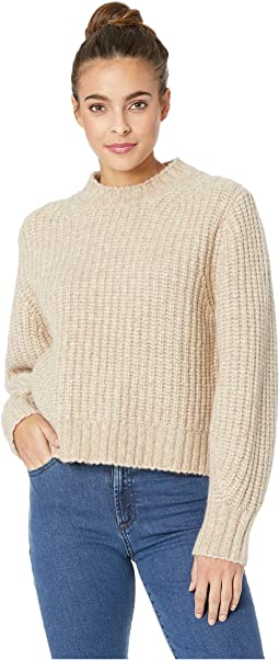 Julie Long Sleeve Mock Neck Sweater