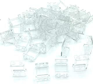 LEGO #4864 Parts and Pieces 50 Count Transparent Clear 1x2x2 Window Panel Loose