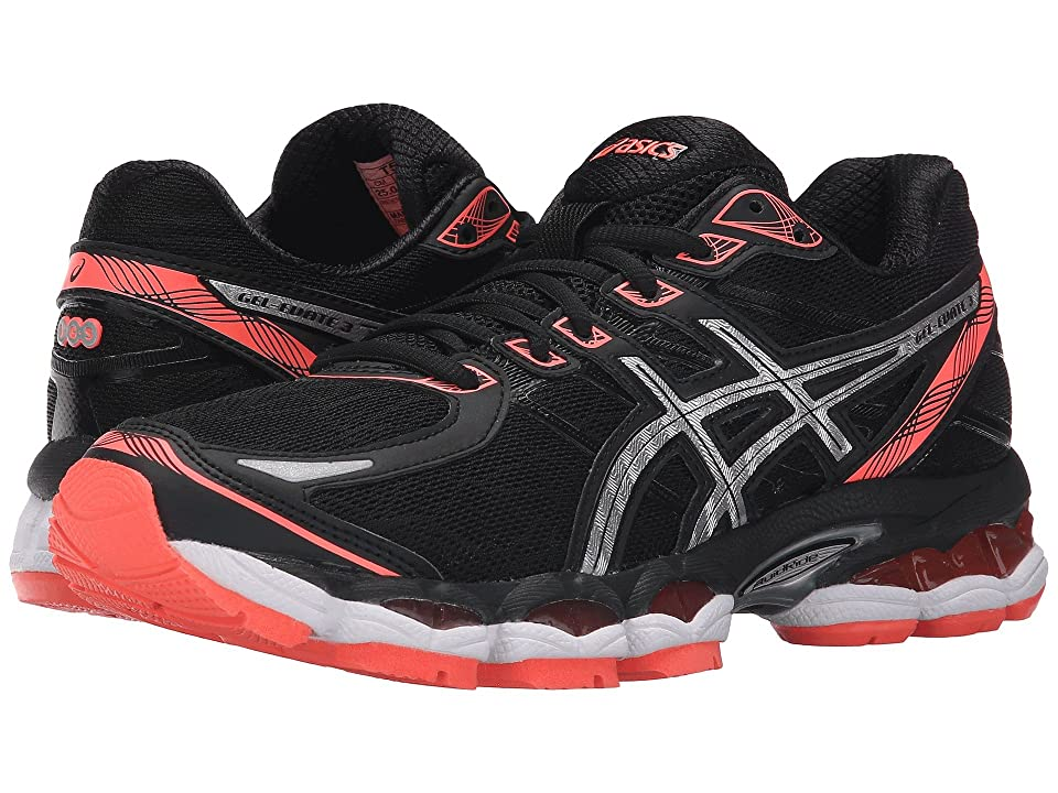 ASICS Gel-Evatetm 3 (Black/Silver/Flash Coral) Women