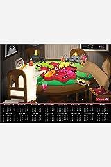 The Oatmeal 2014-15 16-Month Calendar Poster Calendar