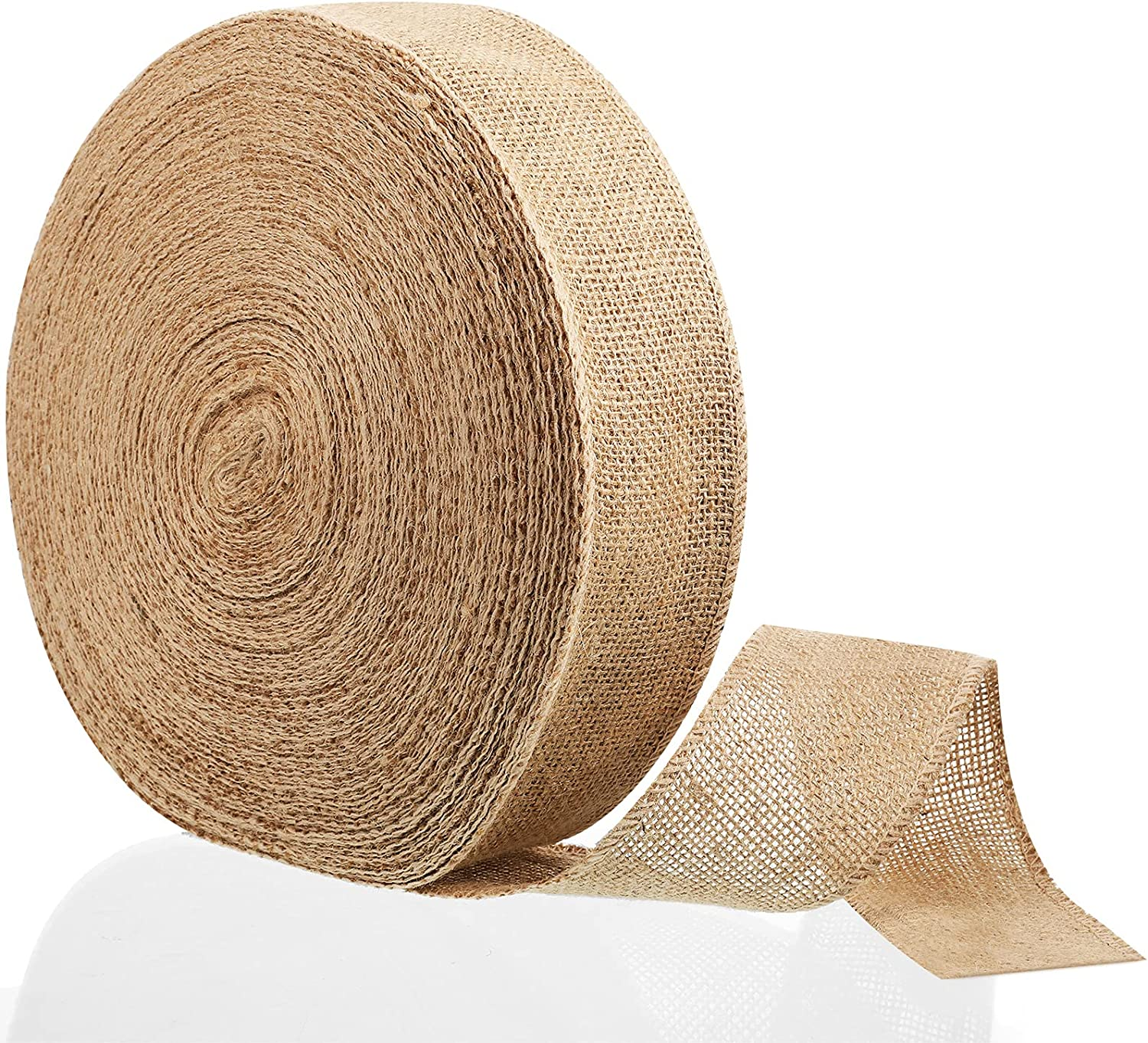 49 Yards Burlap Super Special In a popularity SALE held Fabric Ribbon Natural Jute Crafts
