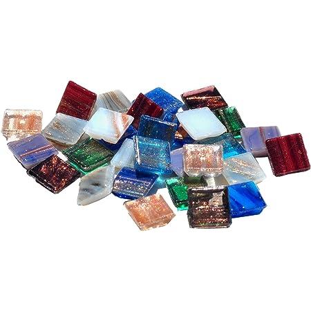 1-Pound Iris Mosaic Mercantile Glass Tile