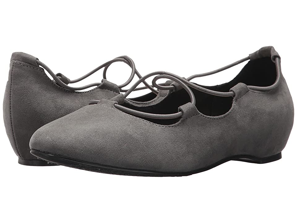 Soft Style Colleen (Dark Grey Faux Suede) Women