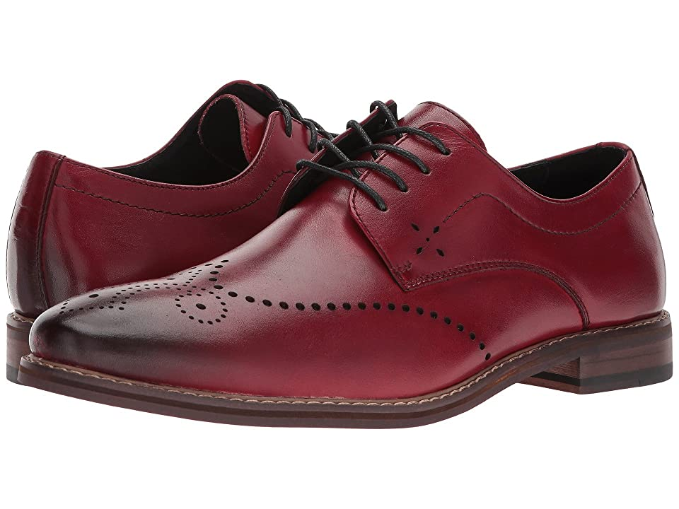 Stacy Adams Alaire Wingtip Lace-up Oxford (Cranberry) Men