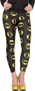 Rubie's Costume 38028 Women's DC Comics Batgirl Leggings, Black, One Size
