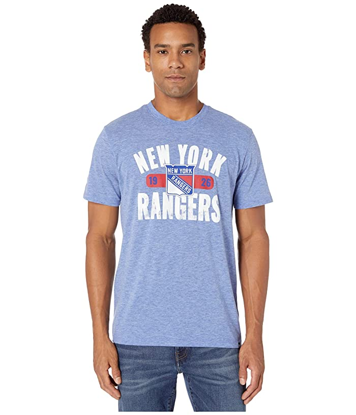 New York Rangers Milestone Match Tee Royal