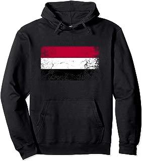 Yemen National flag vintage gift Pullover Hoodie