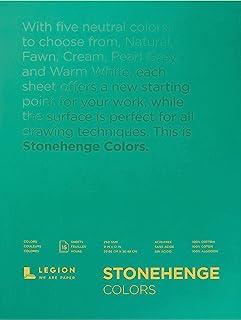 Legion Paper Stonehenge Multi Color Paper Pad (ANL21-STP250MC912) 9x12