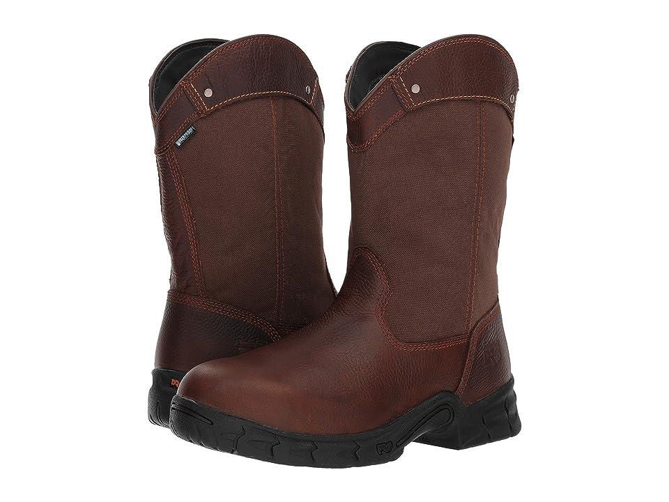 Timberland PRO Excave Pull-On Steel Toe Waterproof (Brown) Men