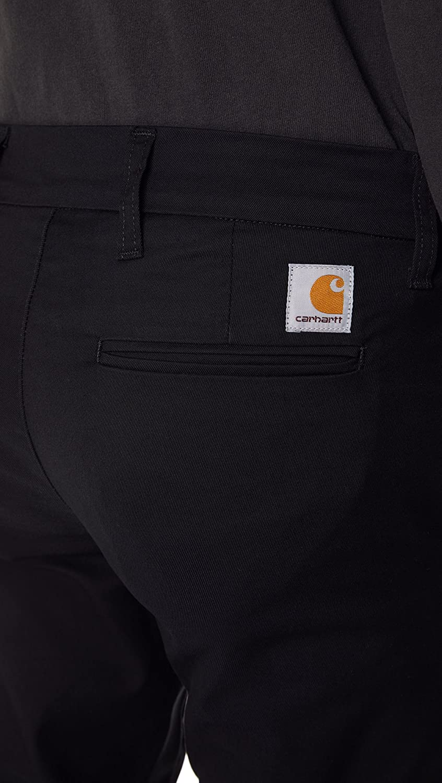Carhartt Sid Pantalon Homme Noir (Black 89.02)