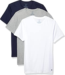 Men's Undershirts 3 Pack Cotton Classics Slim Fit Crew T-Shirt
