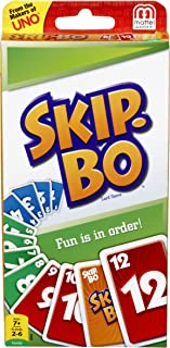 SKIP BO Card Game - Mattel