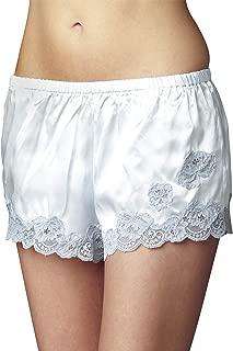 Julianna Rae Women's 100% Silk Tap Pant, Flattering Fit, Le Tresor Collection, Sleepwear, Lingerie, Beautiful Gift Packaging