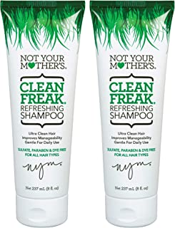 Sponsored Ad - Not Your Mother's Clean Freak Refreshing Shampoo, 8 Ounces, 2 Count (13437)