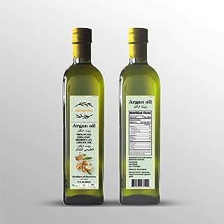 Argan oil -cooking - hair - body and face all natural (natural organic moroccan argan oil -500ml)