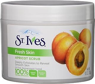 St. Ives Fresh Skin Invigorating Apricot Scrub 10 Oz (2 Pack)