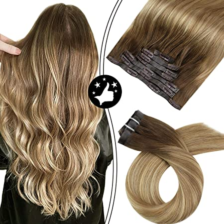Mit blond balayage braun Kurze Haare