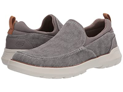 SKECHERS Relaxed Fit Doveno Hangout (Taupe) Men