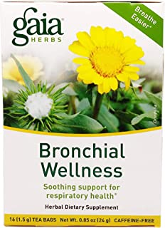 Gaia Herbs, Tea Bronchial Wellness, 16 Count