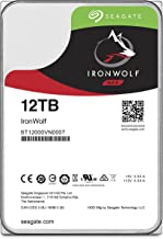 Seagate IronWolf NAS 7200RPM Internal SATA Hard Drive 12TB 6Gb/s 3.5-Inch(ST12000VN0007) (Renewed)