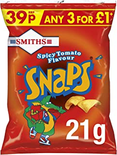 Smiths Snaps Spicy Tomato 21 g (Pack of 30)