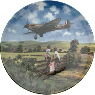 Bradford Exchange Royal Doulton Spitfire Coming Home Heroes of The Sky Plate CP670