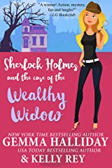 Sherlock Holmes and the Case of the Wealthy Widow (Marty Hudson Mysteries Book 3) Kindle Edition