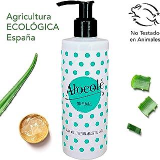 AloeOlé | Gel Aloe Vera 100% Puro y Ecológico 250 ml |