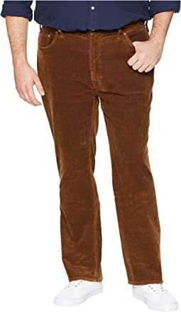 Big & Tall Washed Stretch Corduroy Pants