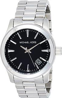Michael Kors Mens Quartz Watch, Analog Display and Stainless Steel Strap MK7052